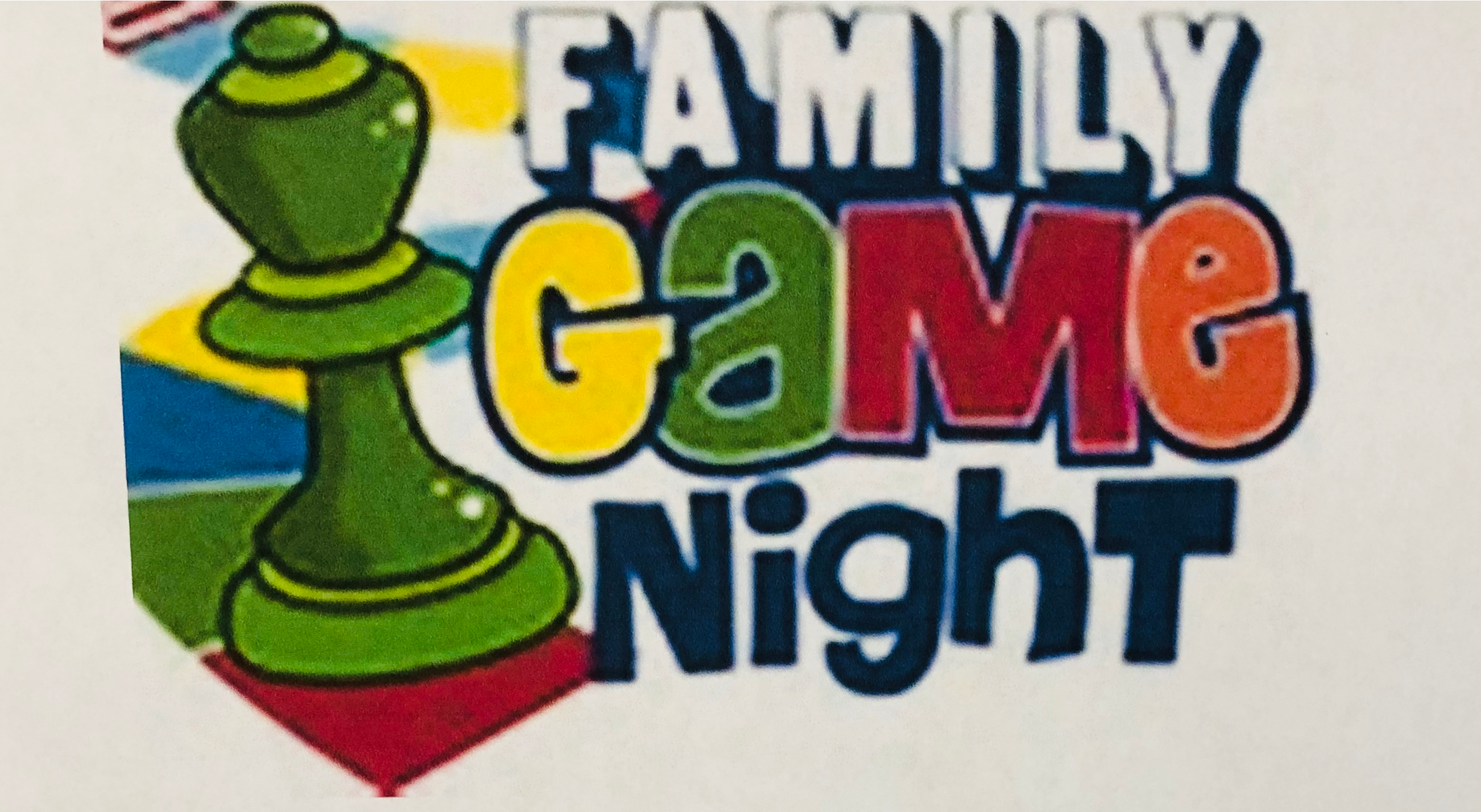 Family Game Night 6:30-8:00 pm Westview UMC Join us for a fun-filled evening of family friendly games!