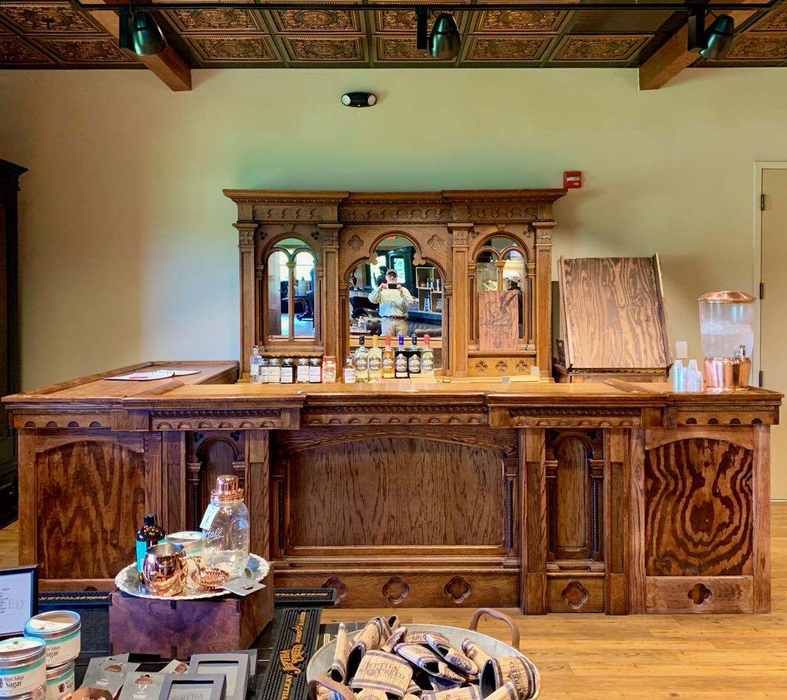 Jeptha Creed Distillery Sampling Bar