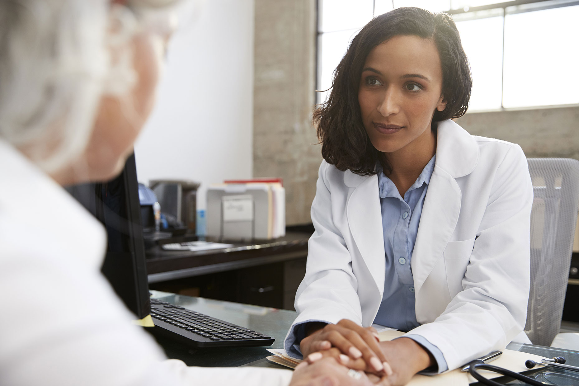Young Female Doctor In Consultation