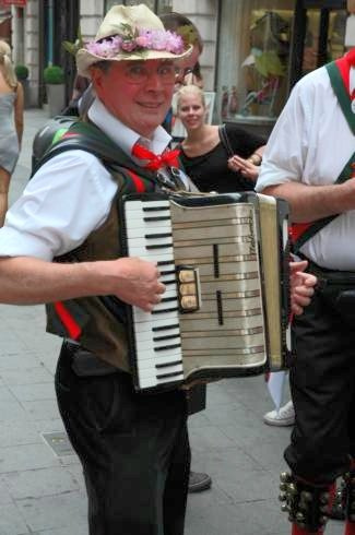 Alan Merrydowners accordion player