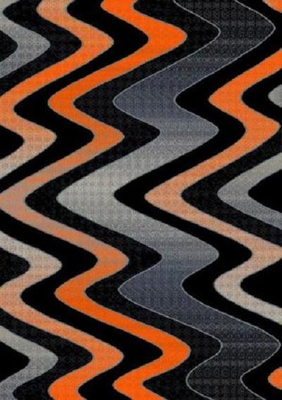 Trendz 866 Orange 5x7