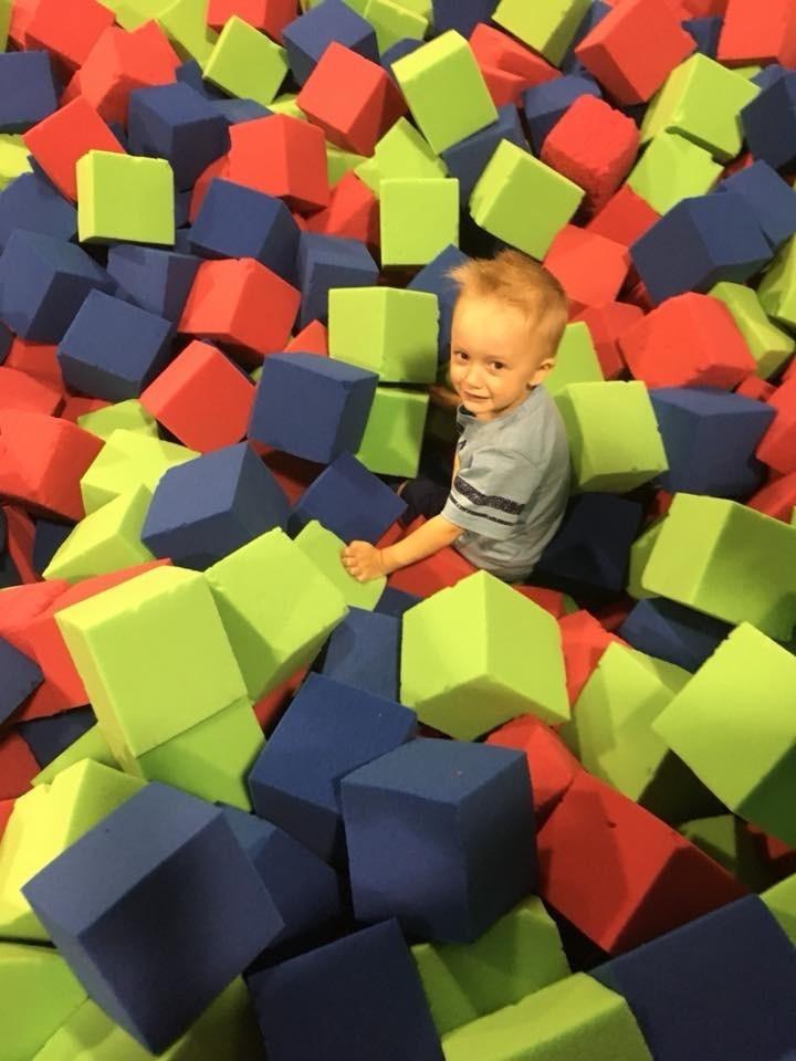 Kid Enjoying Inflatable