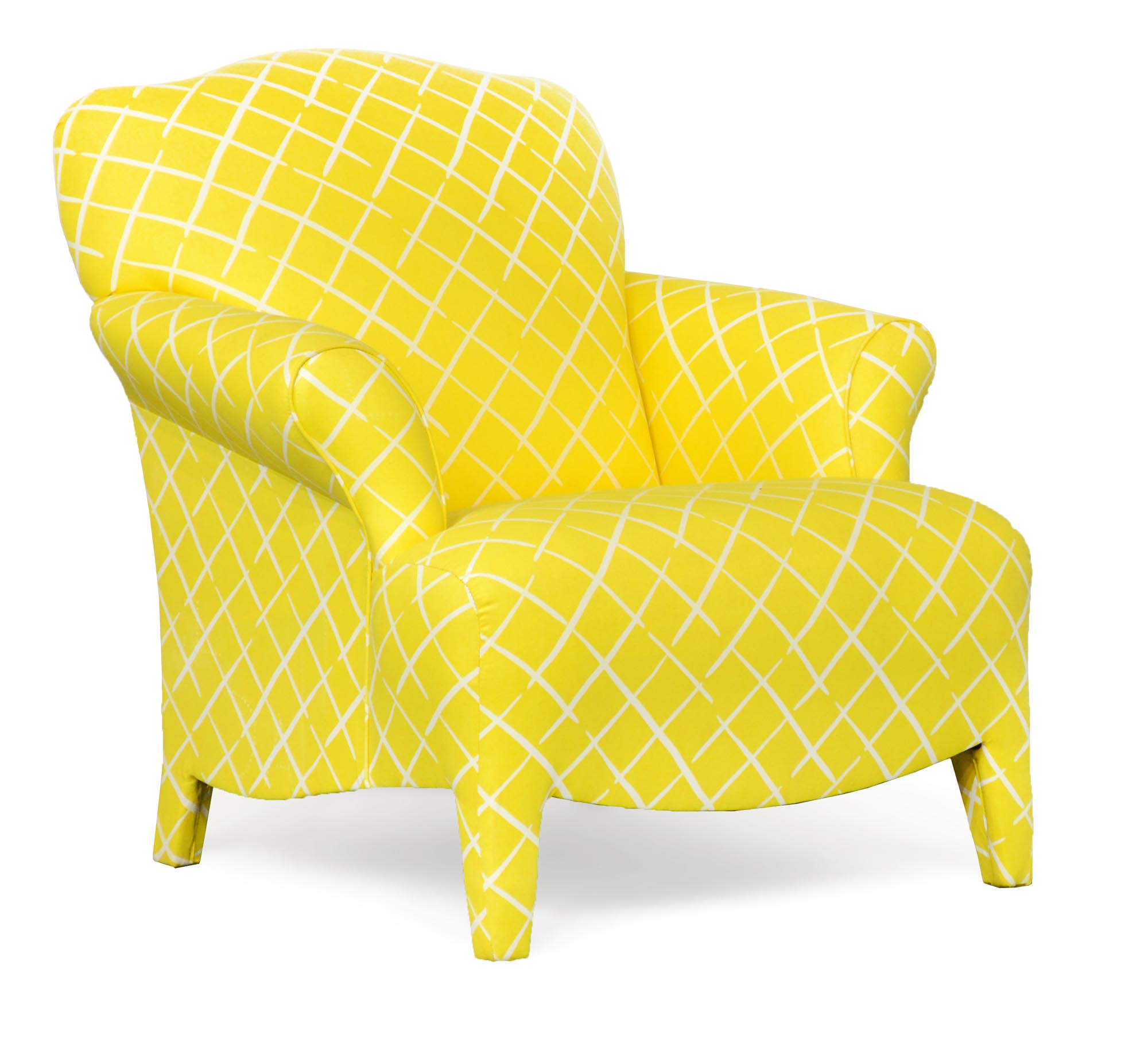 100 Olivia Daffodil Accent Chair