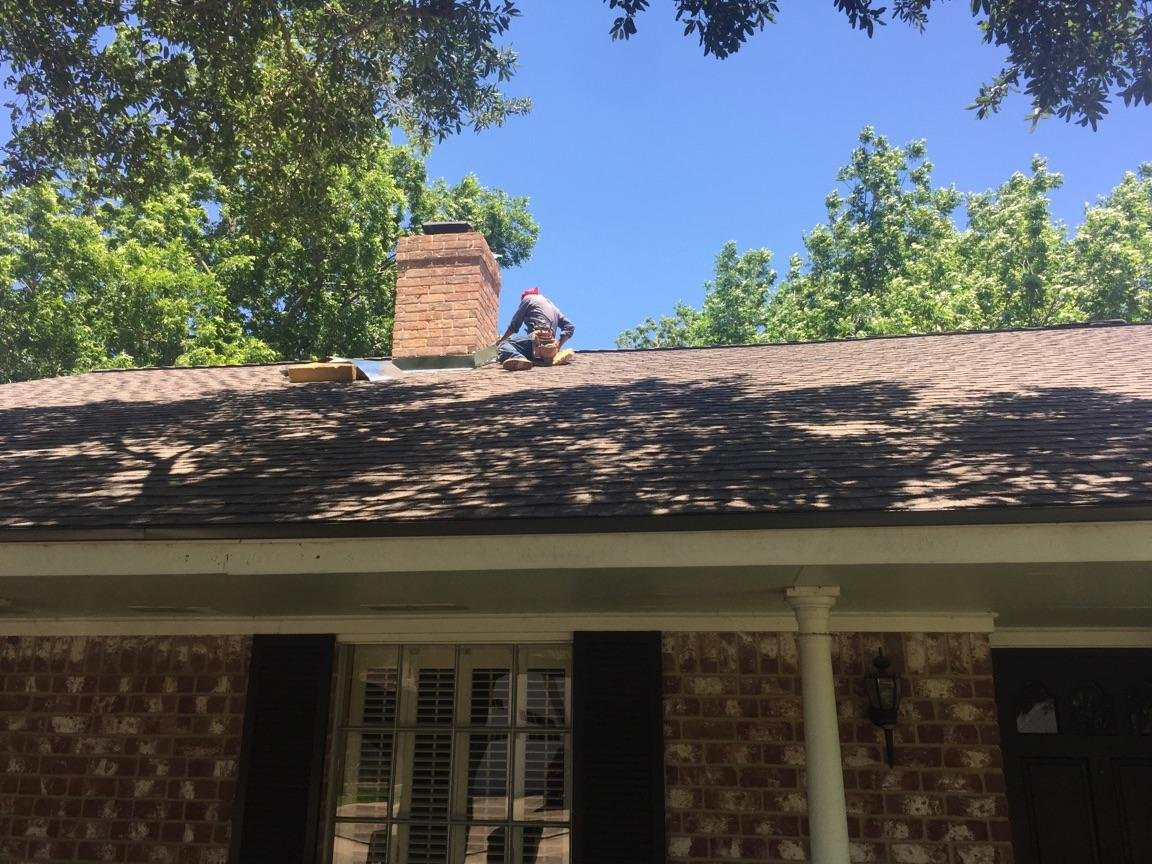Ongoing Roofing Project