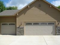 Newly Built Garage Door