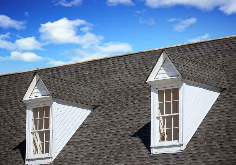 Asphalt Shingles on Residential Roof