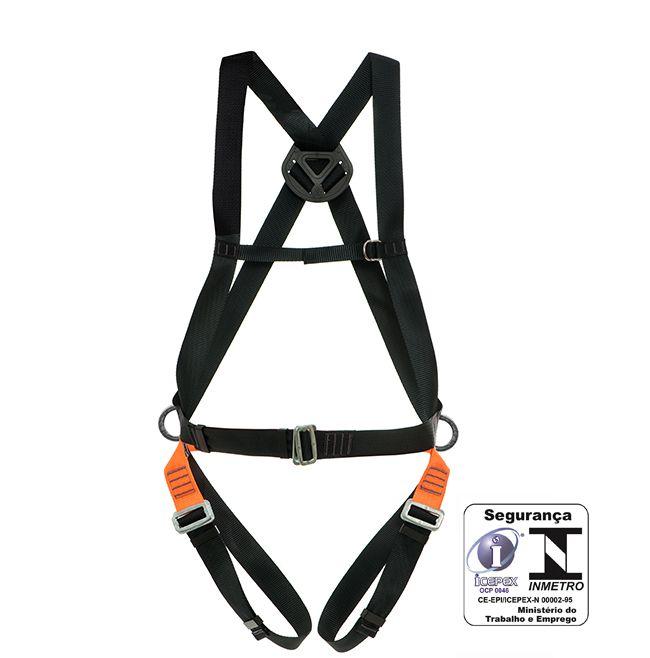 Cinturão paraquedista 3 meia-argolas