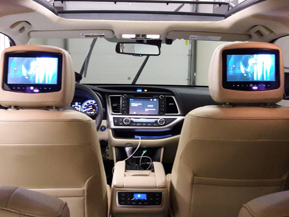 Car Sound and Video System