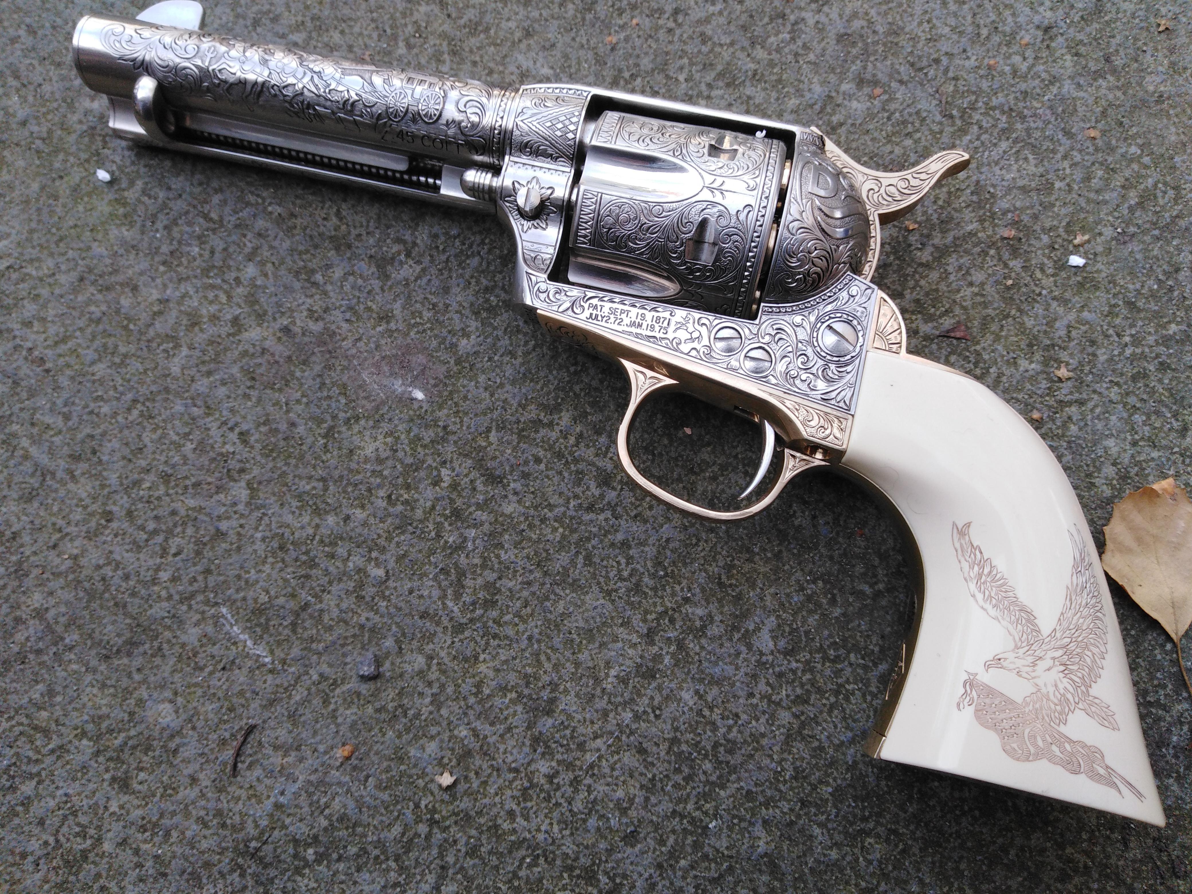 John Wayne Franklin Mint Colt SOLD