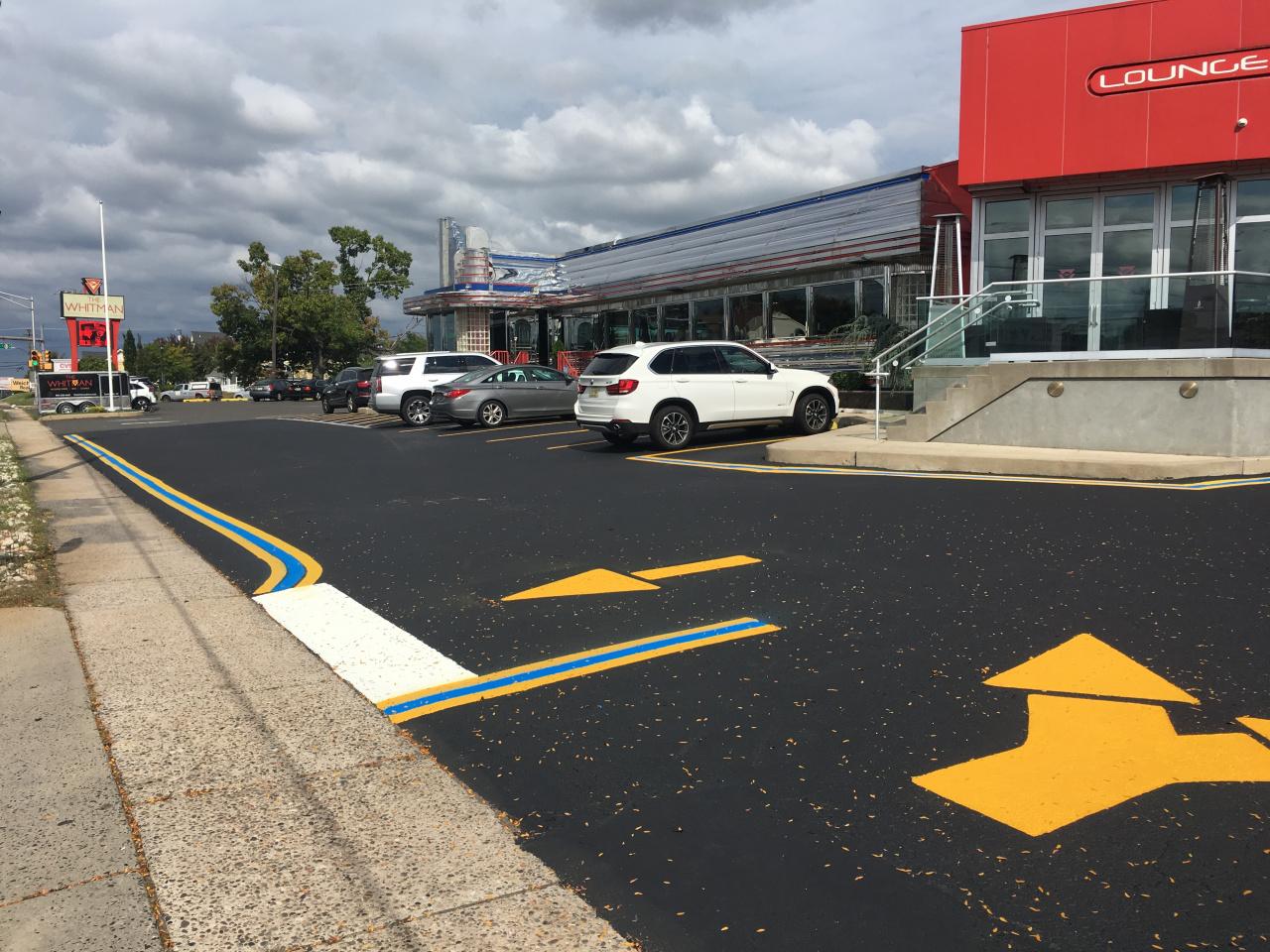 Car at Parking Lot