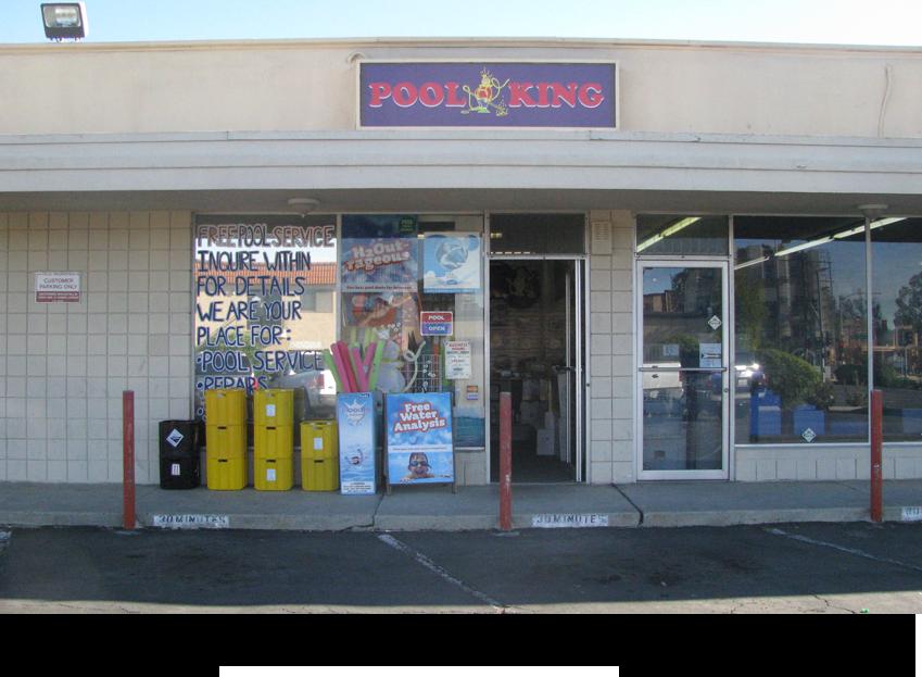 Pool King Inc storefront||||