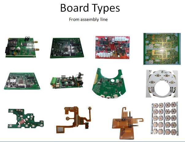 Board Types From Assembly Line