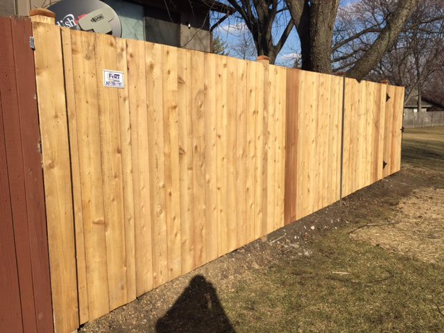 Solid Dog Ear Privacy Fence
