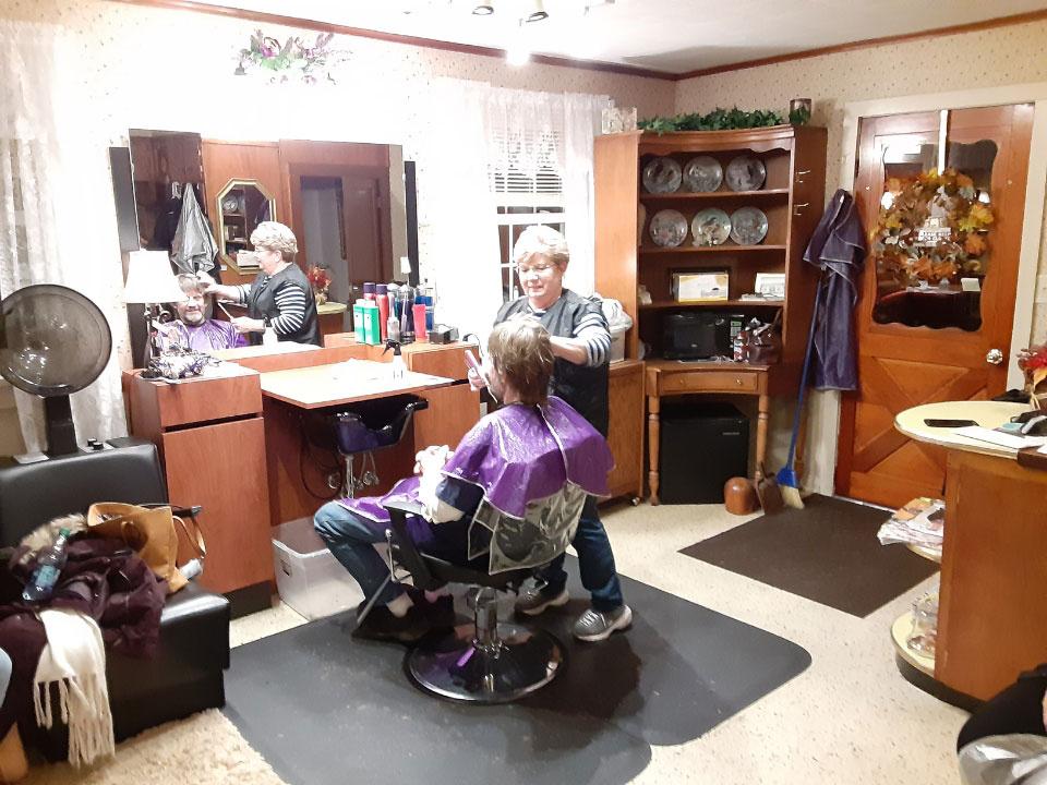 Client in a Hair Salon 1