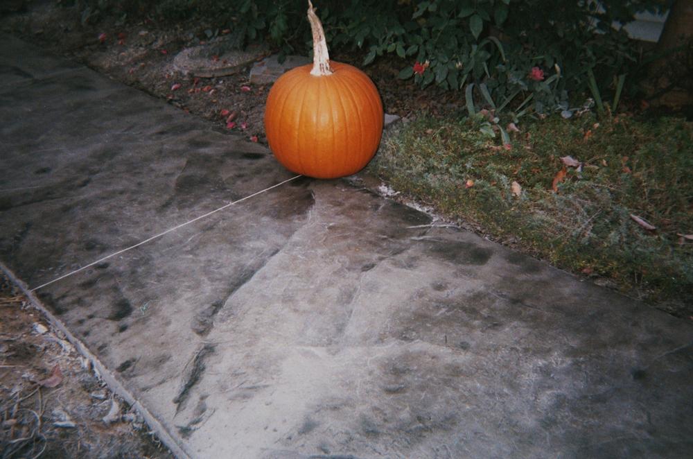 Seamless slate overlay on walkway