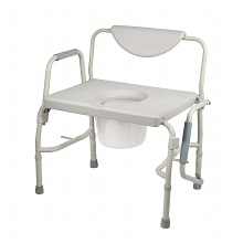 Bath bariatric bedside commode||||