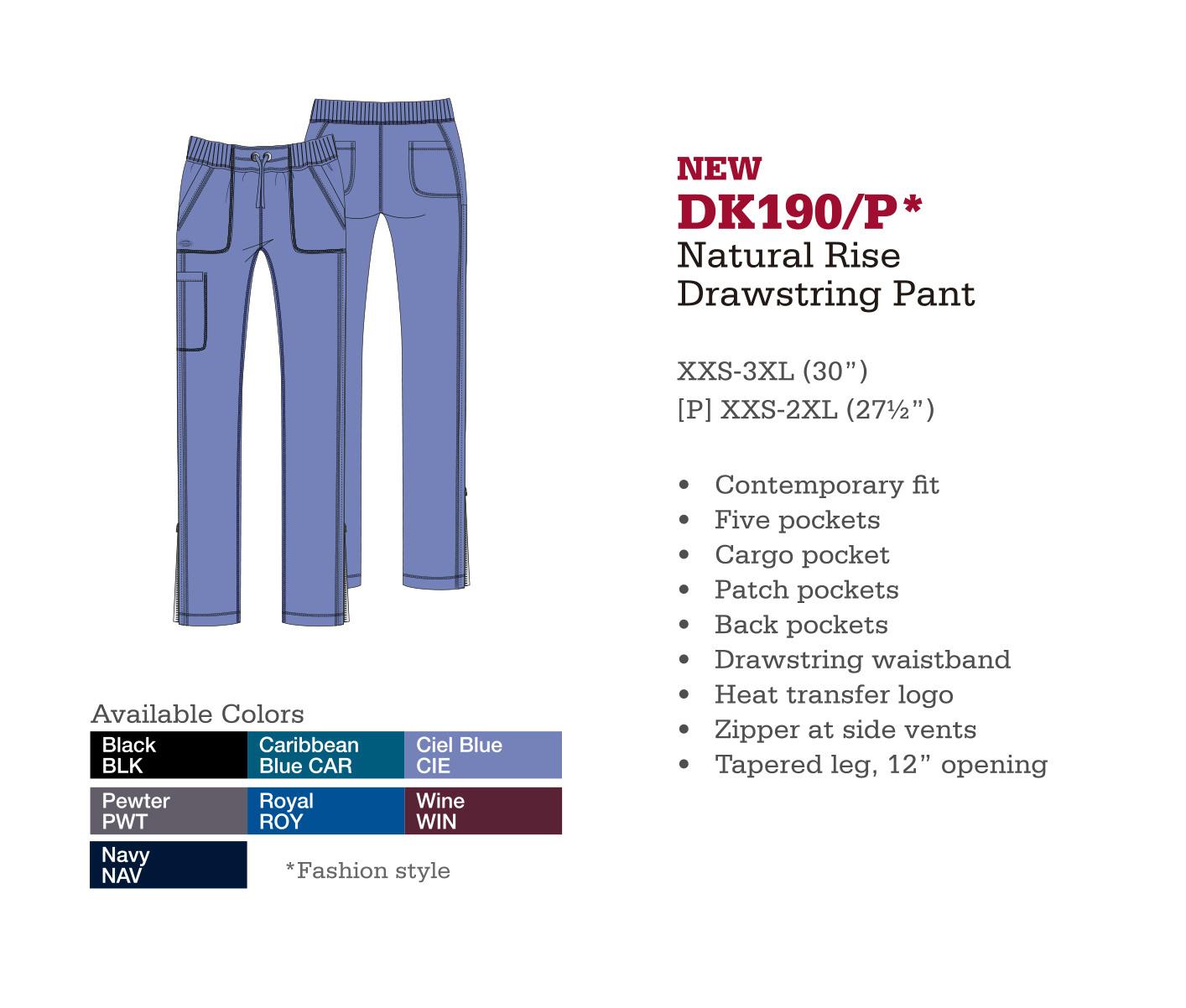 Pantalón con Cordones de Levantado Natural. DK190/P.