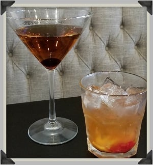 Wally's Manhattan and Old Fashioned