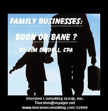 The Successful Family Business - Jim Lindell