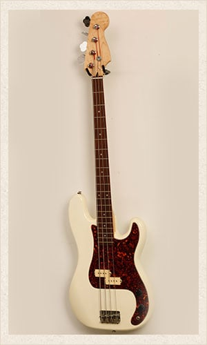 White Bass Guitar