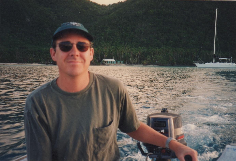 Anchored off of St. John