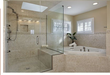 Remodeled Shower Area