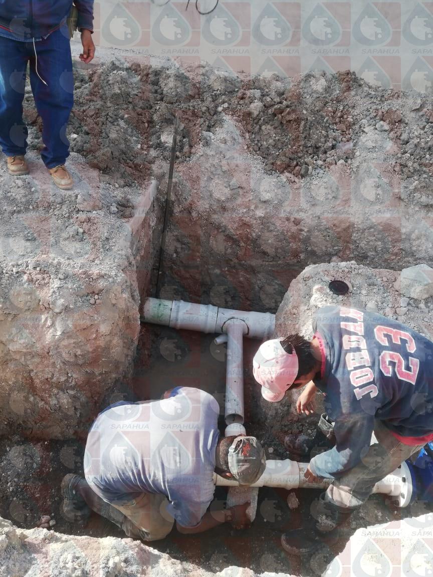 Interconexión de la línea general de agua en c. Nicolás Bravo col san Rafael      Mes: Diciembre