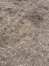 Double grind hardwood mulch