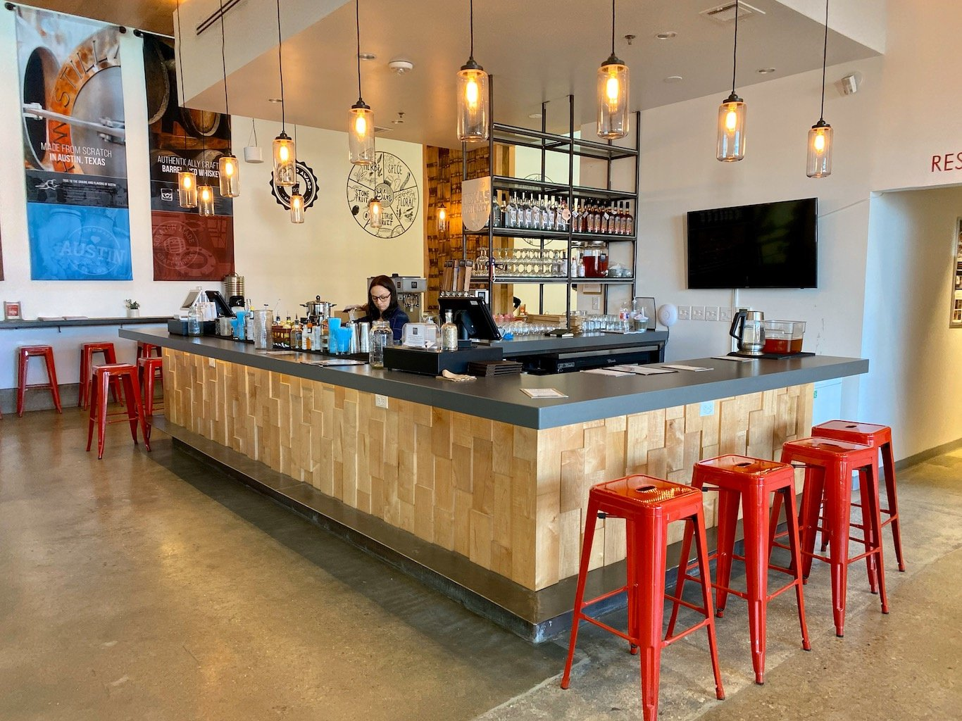 Bar - Tasting Room - Still Austin Whiskey Co