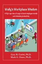 """Wally's Workplace Wisdom"" book cover"