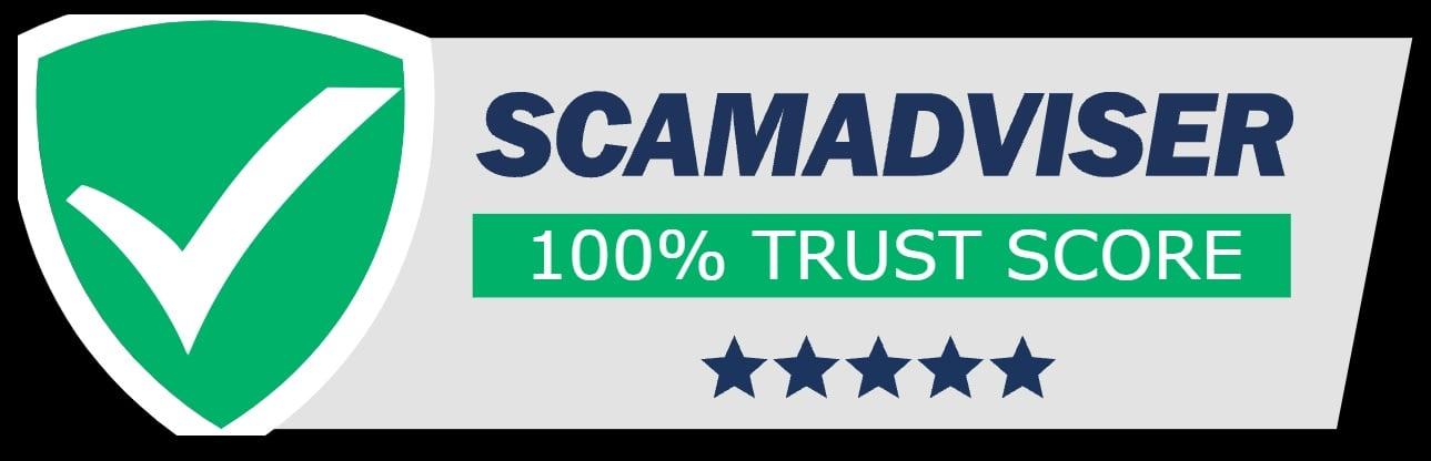 100 percent trust score.