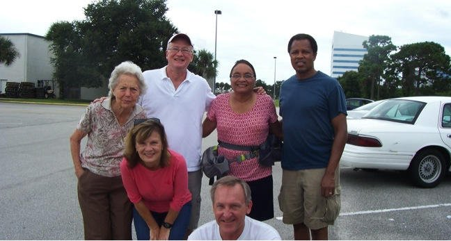 Evangelism Team Ready to Distribute Tracts for Airshow in Melbourne, FL
