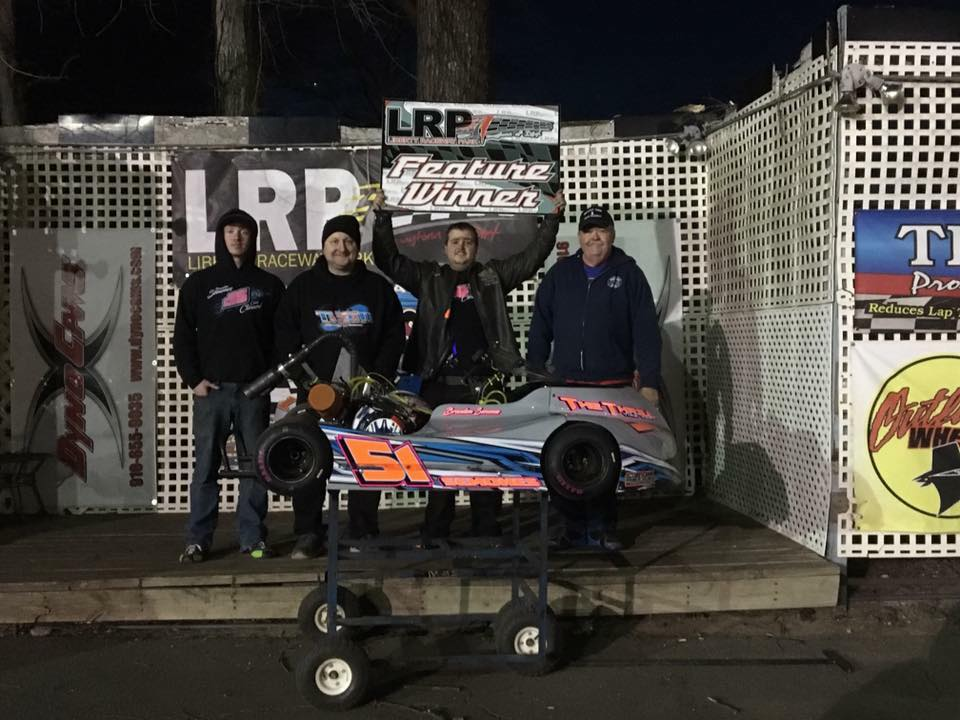 Brandon Semones Win at Liberty Raceway Park