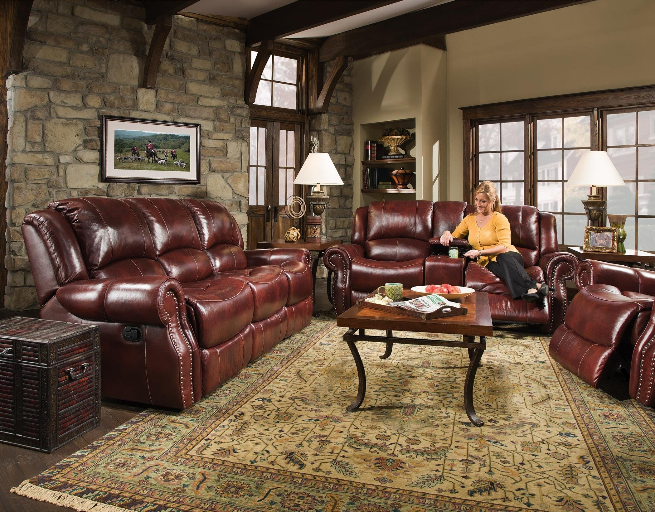 99901 Corinthian Reclining Set