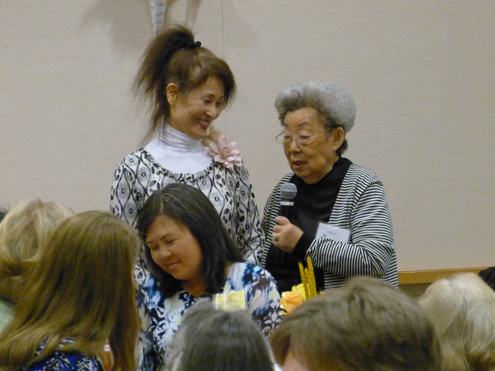 Rosalyn Koo and Teacher, Sumi Nagasawa