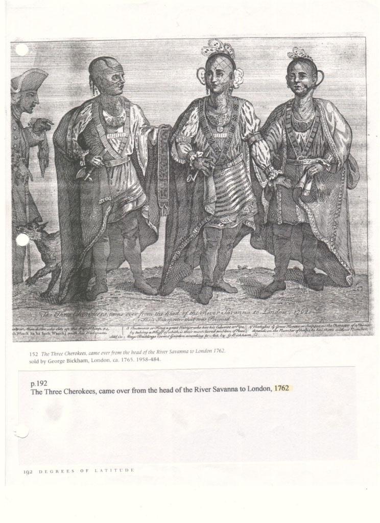 Cherokees Go to England