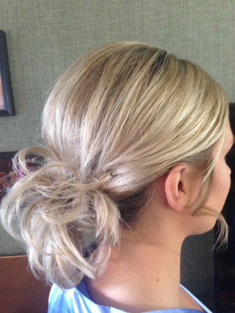 Updo With Loose Curls 5