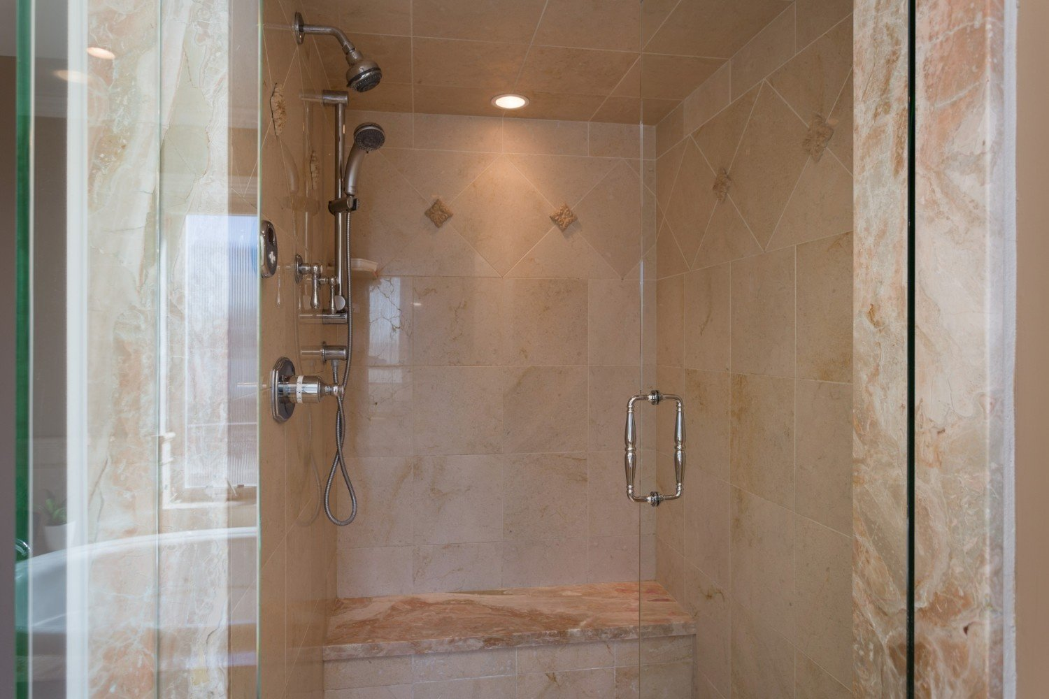 HB Ocean View Townhouse Shower
