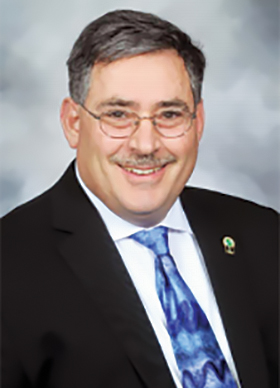San Leandro School Board President Vince Rosato