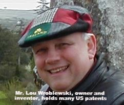 Premier Tool Works owner & inventor, Mr. Lou Wroblewski holds many US patents.