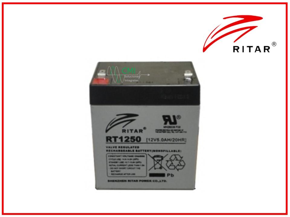 batería ritar 1250