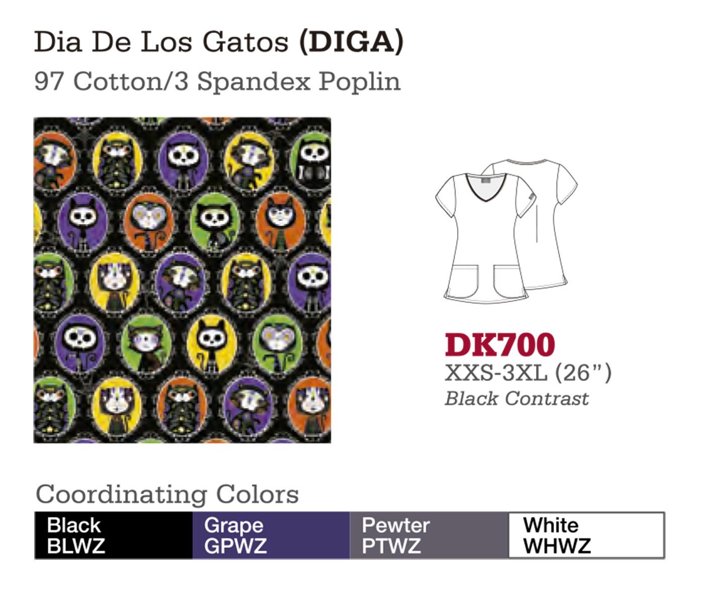 Dia De Los Gatos. DK700.