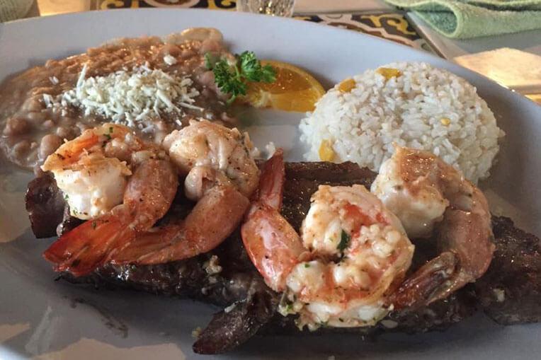 The Crazy Lobster - FAJITAS DE CAMARON