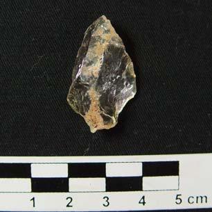 Artefatos líticos (em pedra) encontrados no Sítio Arqueológico Toledo, na área da Eurofarma Laboratórios, em Montes Claros – MG.