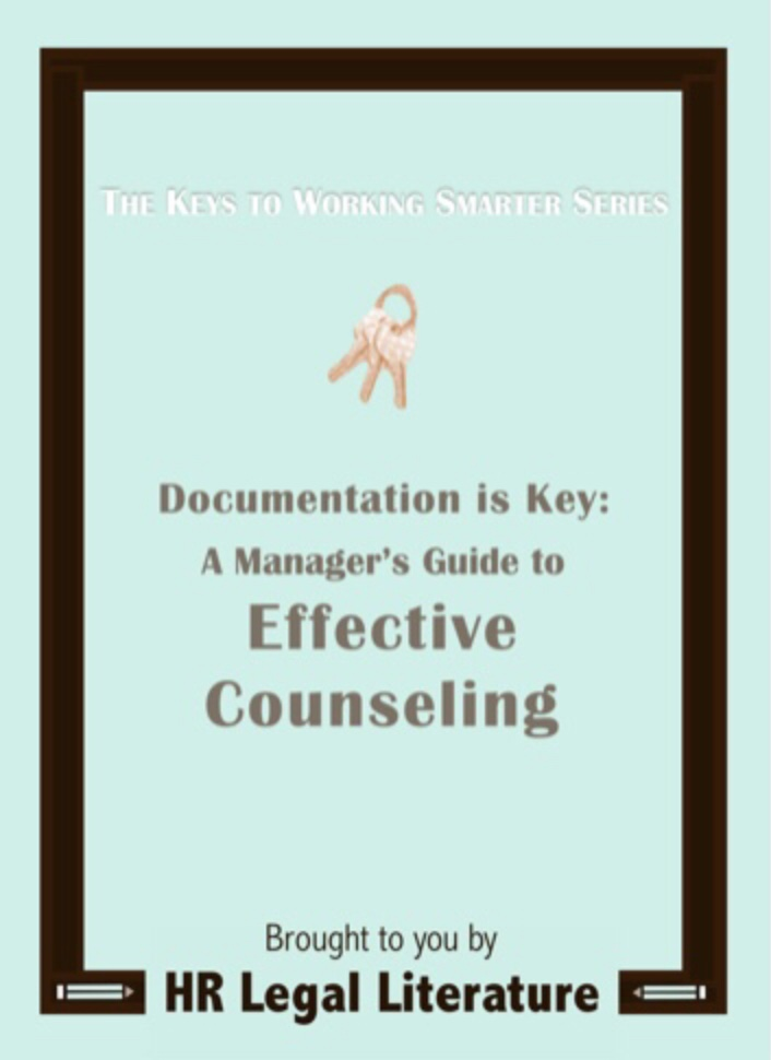 Human Resources, HR Counseling, Employee Counseling, Employee Discipline, HR e-book