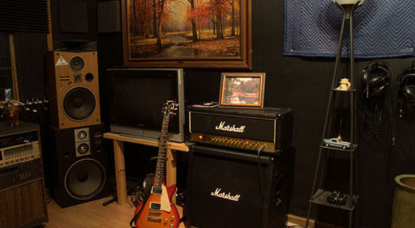 Interior of the Recording Studio 2