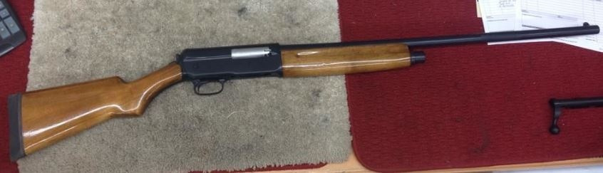 Winchester model 11 cerakoted with graphite black. (we also did extensive internal work on this gun.