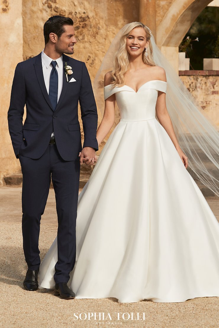 Sophia Tolli Suit and Bridal Gown 1
