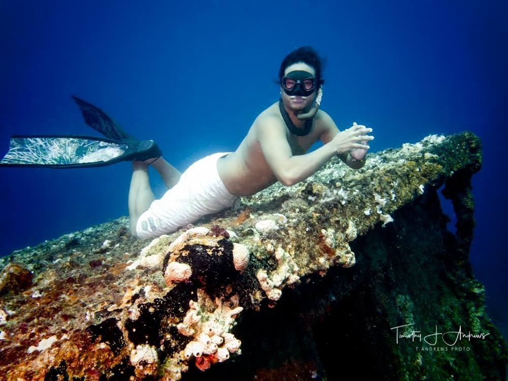 Expert Male Freediver