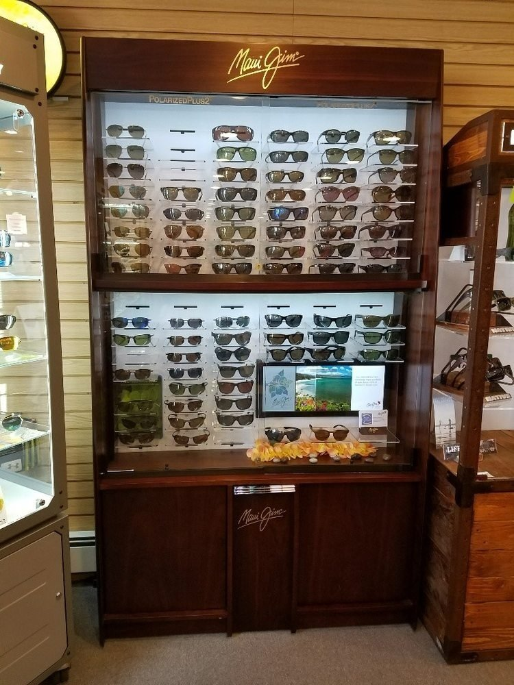 A Rack of Sunglasses